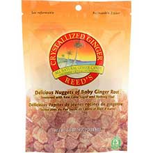 Reeds Ginger Brew Crystallized Ginger Candy 3.5 Ounce