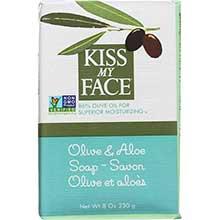 Kiss My Face Olive and Aloe Bar Soap 8 Ounce