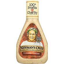 Newmans Own Creamy Caesar Salad Dressing 16 Ounce