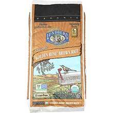 Lundberg Farms Organic Golden Rose Medium Brown Rice 1 Pound