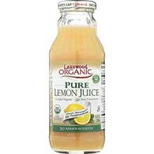 Lakewood Organic Pure Lemon Juice 12.5 Ounce