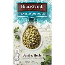 Basil and Herb Pearled Couscous Mix