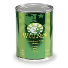 Wellness Lamb and Sweet Potato Formula Canned Dog Food 12.5 Ounce
