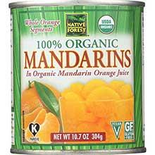 Native Forest Organic Whole Mandarin Orange in Juice 10.75 Ounce