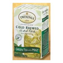 Green Tea with Mint Cold Brewed Iced Tea Bag