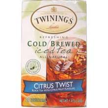 Citrus Twist Cold Brewed Iced Tea Bag