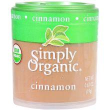 Simply Organic Ground Cinnamon 0.67 Ounce