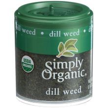 Simply Organic Mini Dill Weed Spice 0.14 Ounce