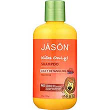 Jason Natural Products Kids Only Daily Detangling Shampoo 8 Ounce
