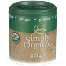 Simply Organic Ground Ginger 0.42 Ounce