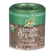 Simply Organic Mini Italian Seasoning Blend Spice 0.14 Ounce