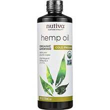 Nutiva Organic Hempseed Oil 24 Ounce