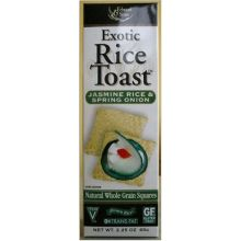 Edward And Sons Brown Jasmine Rice and Spring Onion Toast Cracker 2.25 Ounce
