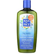 Kiss My Face Organic Hair Care Paraben Free Big Body Conditioner 11 Ounce