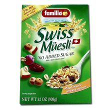 Familia Cereal No Sugar - 32 Oz Pack