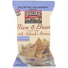 Boulder Rice and Adzuki Bean Chips
