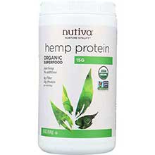 Nutiva Organic Hemp Protein Powder 16 Ounce