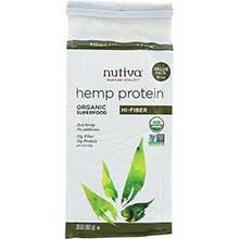 Nutiva Organic Hemp Protein Plus Fiber 30 Ounce