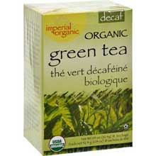 Organic Imperial Decaffeinated Green Tea Bag