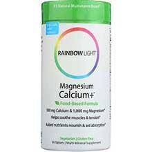 Rainbow Light Calcium Plus Tablet 500 Mg