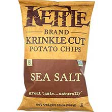 Kettle Foods Krinkle Cut Lightly Salted Potato Chips 14 Ounce