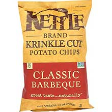 Kettle Foods Krinkle Cut Classic Barbeque Potato Chips 14 Ounce