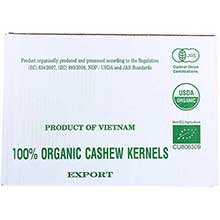 Unfi Organic Whole Large Fancy Cashew Raw 1 Pound