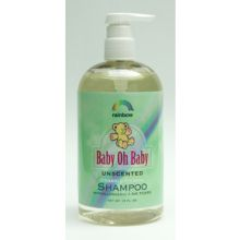 Rainbow Research Organic Herbal Baby Shampoo Unscented 16 Ounce