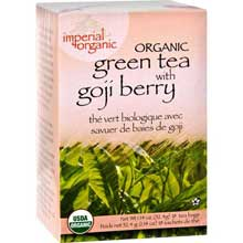 Imperial Organic Green Tea Bag with Goji Berry