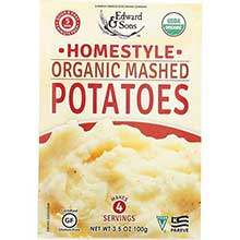 Edward and Sons Organic Home Style Mashed Potato 3.5 Ounce