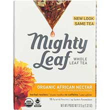 Mighty Leaf Tea African Nectar Herbal Tea Pouches