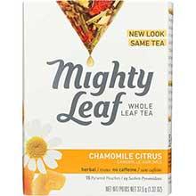 Mighty Leaf Tea Chamomile Citrus Herbal Tea