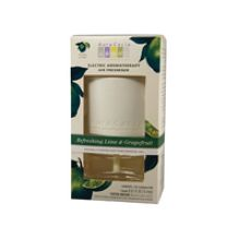 Aura Cacia Lime and Grapefruit Electric Aromatherapy Air Freshener