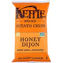 Kettle Foods Honey Dijon Potato Chips 5 Ounce