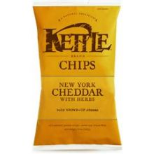 Kettle Foods New York Cheddar Potato Chips 5 Ounce