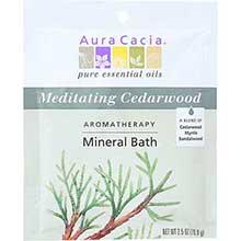 Aura Cacia Meditation Aromatherapy Mineral Bath Salt 2.5 Ounce