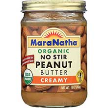 Maranatha Natural Foods Organic Creamy Peanut Butter 16 Ounce