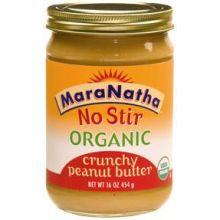 Maranatha Natural Foods Organic Crunchy Peanut Butter 16 Ounce
