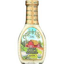 OrganicVille Organic Non Dairy Ranch Vinaigrette 8 Ounce