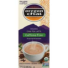 Oregon Chai Organic Herbal Chai Tea Lattte Concentrate 32 Ounce