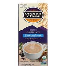 Oregon Chai Organic Slightly Sweet Original Chai Tea Lattte Concentrate 32 Ounce