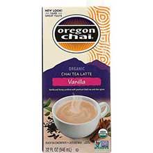 Oregon Chai Organic Vanilla Chai Tea Lattte Concentrate 32 Ounce
