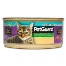 Pet Guard Savory Seafood Dinner Canned Cat Food 5 5 Ounce