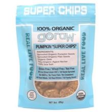 Goraw Pumpkin Super Chips 3 Ounce