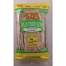 Suzies Spelt Italian Flat Bread 4.5 Ounce