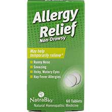 Natra Bio Allergy Relief Tablet