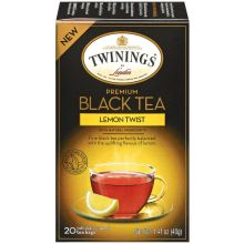 Premium Lemon Twist Black Tea