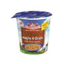 Dr McDougalls Right Foods Maple 4 Grain Big Cup Hot Cereal 2.5 Ounce