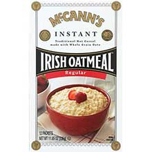 McCanns Instant Irish Oatmeal - Regular Flavor 11.8 Ounce
