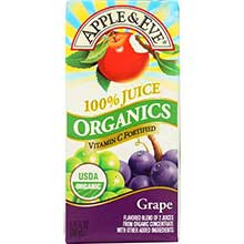 100 Percent Organic Fruit Juice
